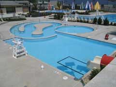 overview of family aquatic center