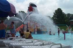 photo of geyser water play feature