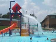 photo of bucket water play feature